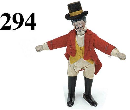 294: Schoenhut Ringmaster - Bisque Head