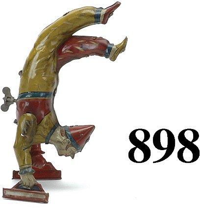 898: German Handstand Clown