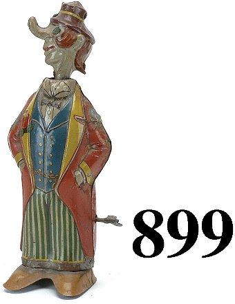 899: Fischer Long Nose Clown