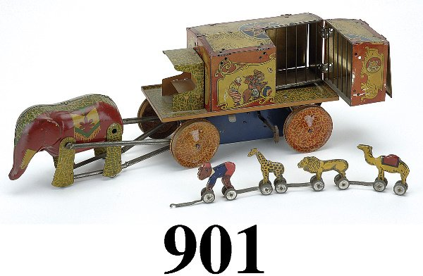 901: Circus Wagon Menagerie Truck