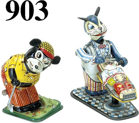 903: Lot: 2 TPS Japanese Toys