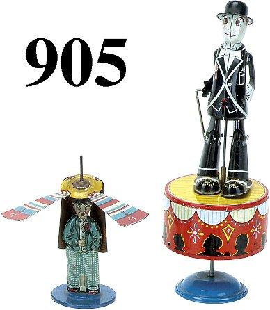 905: Lot: 2 Tin Toys