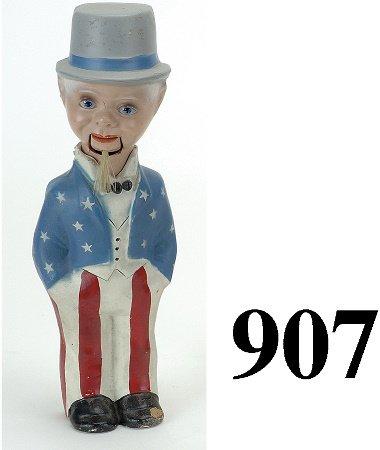 907: Uncle Sam Ventriloquist Figure