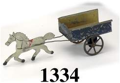 1334 George Brown Horse Drawn Cart