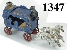 1347: Hubley Royal Circus Calliope - small size