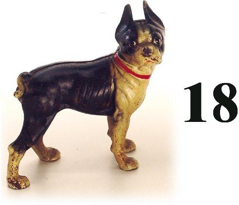18: Hubley Door Stop-Boston Terrier