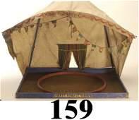 159: Schoenhut Circus Tent