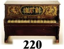 220: Schoenhut Upright Piano