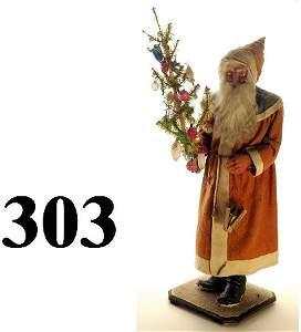 303: Very Large Blue Collar Santa CC