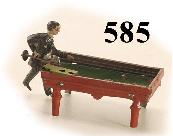 585: Kellerman Pool Player