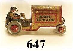 647 Kellerman Baby Tractor