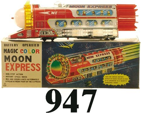 947: T.P.S. Moon Express with box