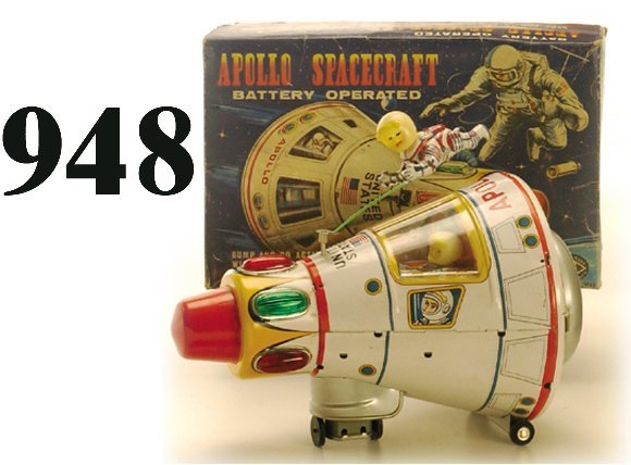 948: Modern Toys Apollo Spacecraft with box