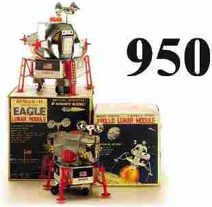 Lot: 2 Apollo Lunar Landers