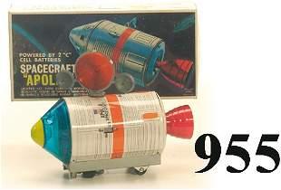 ALPS Spacecraft Apollo with box