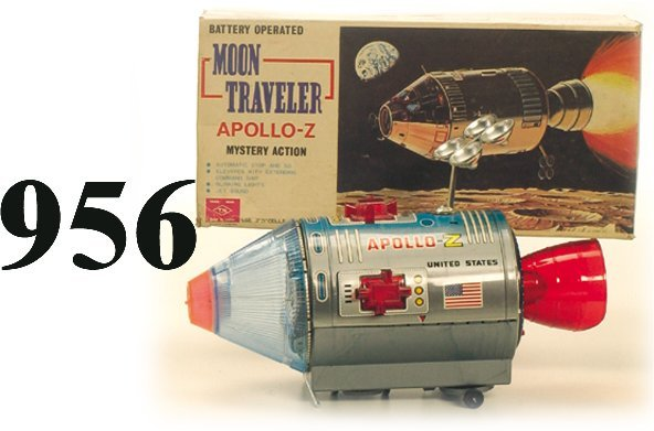 956: T.N. Moon Traveler Apollo-Z with box