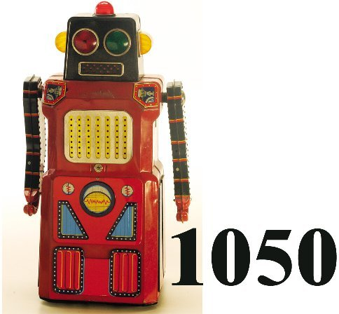 "1050: T.N. Giant Sonic Robot ""Train Robot"""