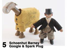 Schoenhut Barney Google & Spark Plug