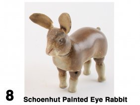 Schoenhut Painted Eye Rabbit