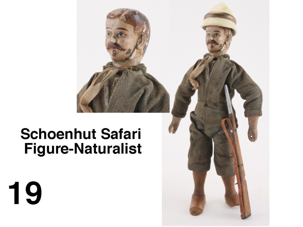Schoenhut Safari Figure-Naturalist