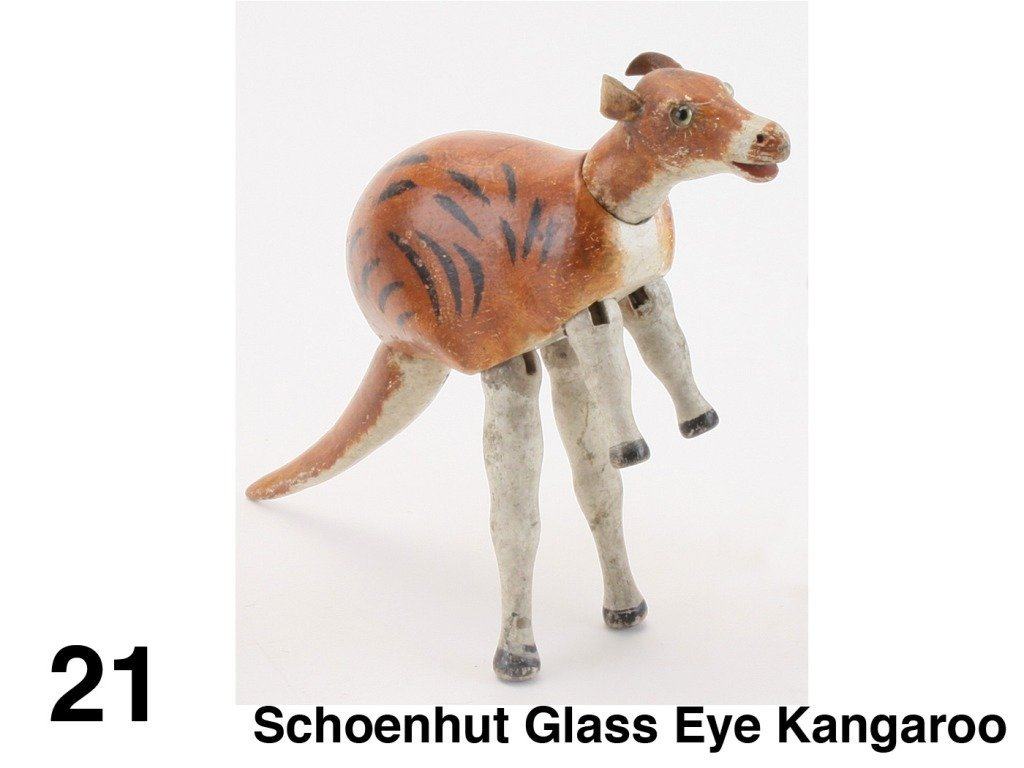 Schoenhut Glass Eye Kangaroo