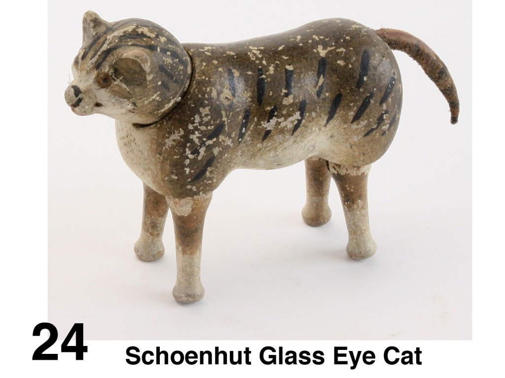 Schoenhut Glass Eye Cat