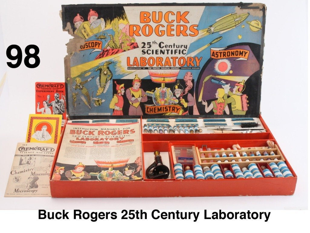 Buck Rogers 25th Century Laboratory