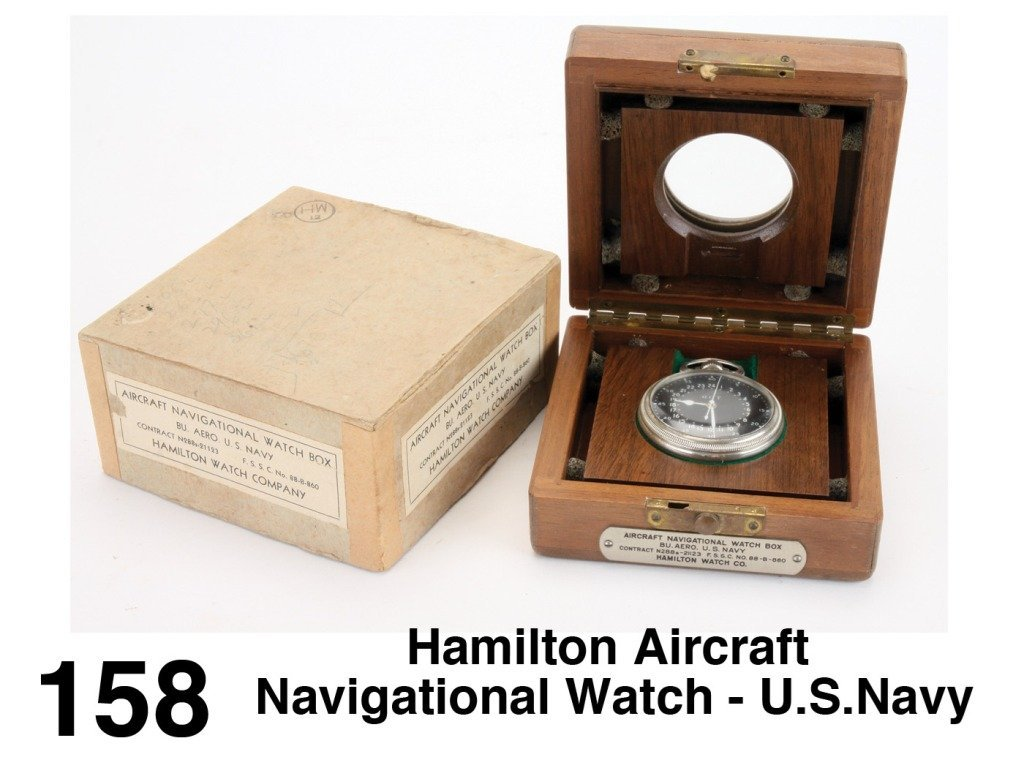 Hamilton Aircraft Navigational Watch - U.S.Navy