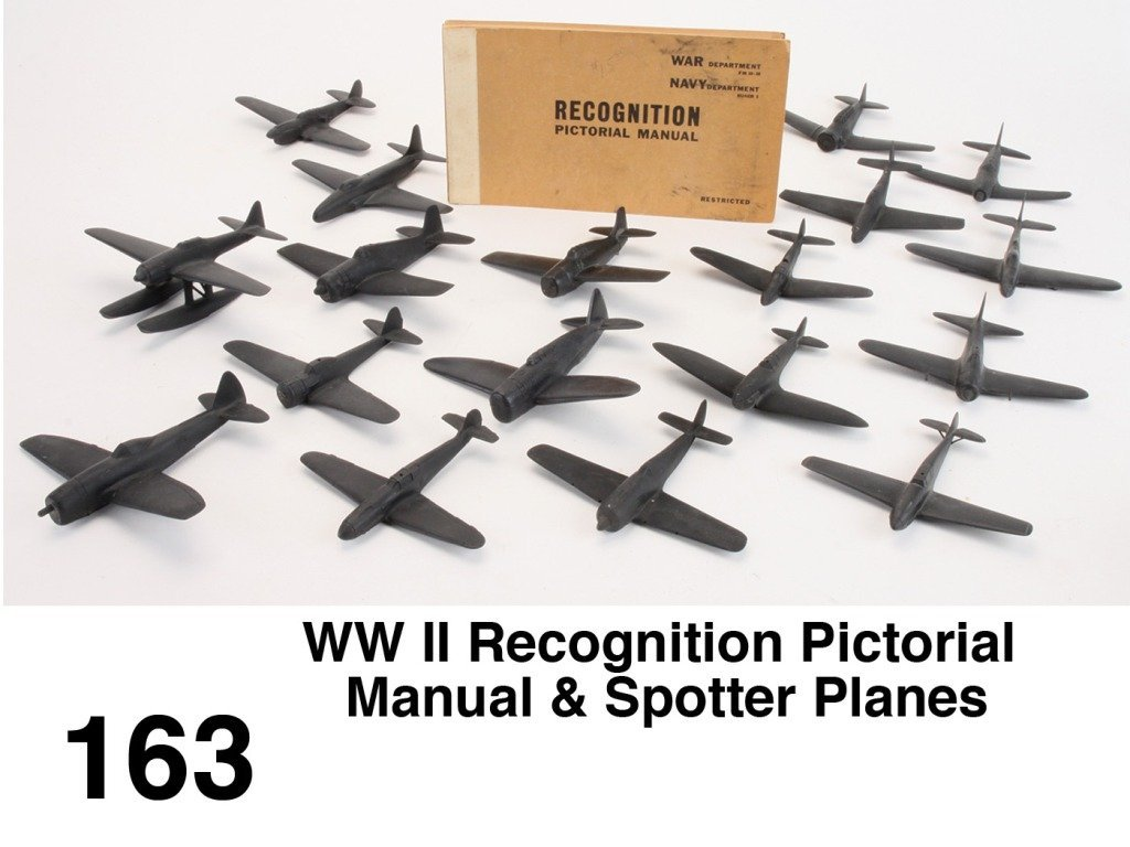 WW II Recognition Pictorial Manual & Spotter Planes