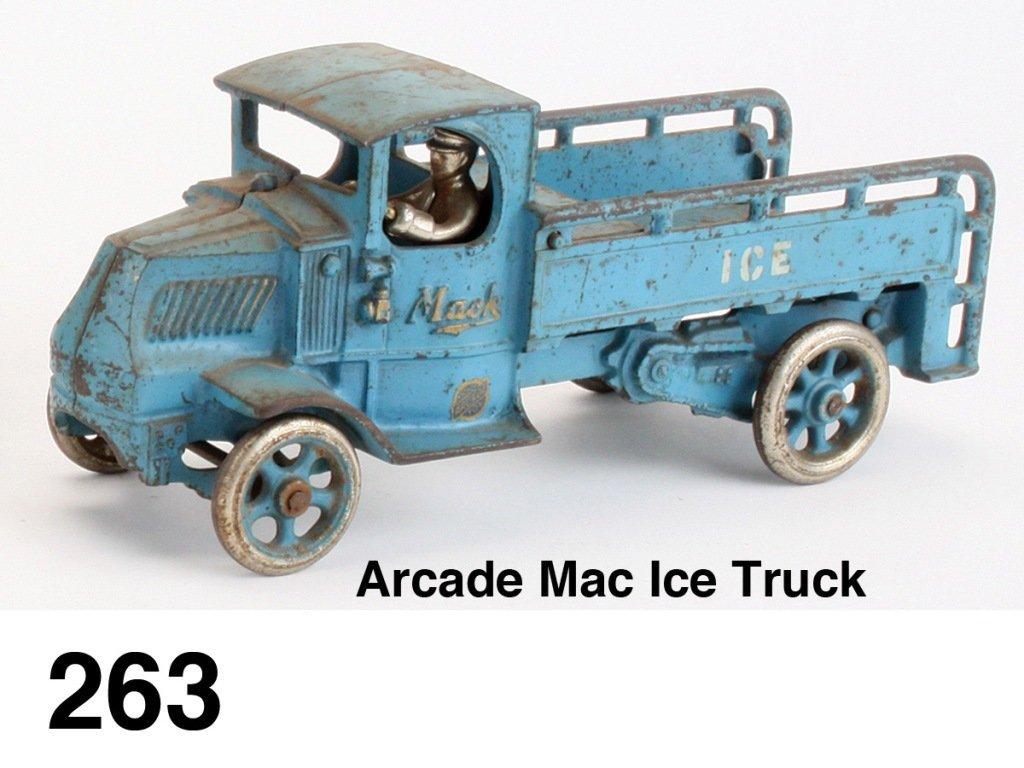 Arcade Mack Ice Truck