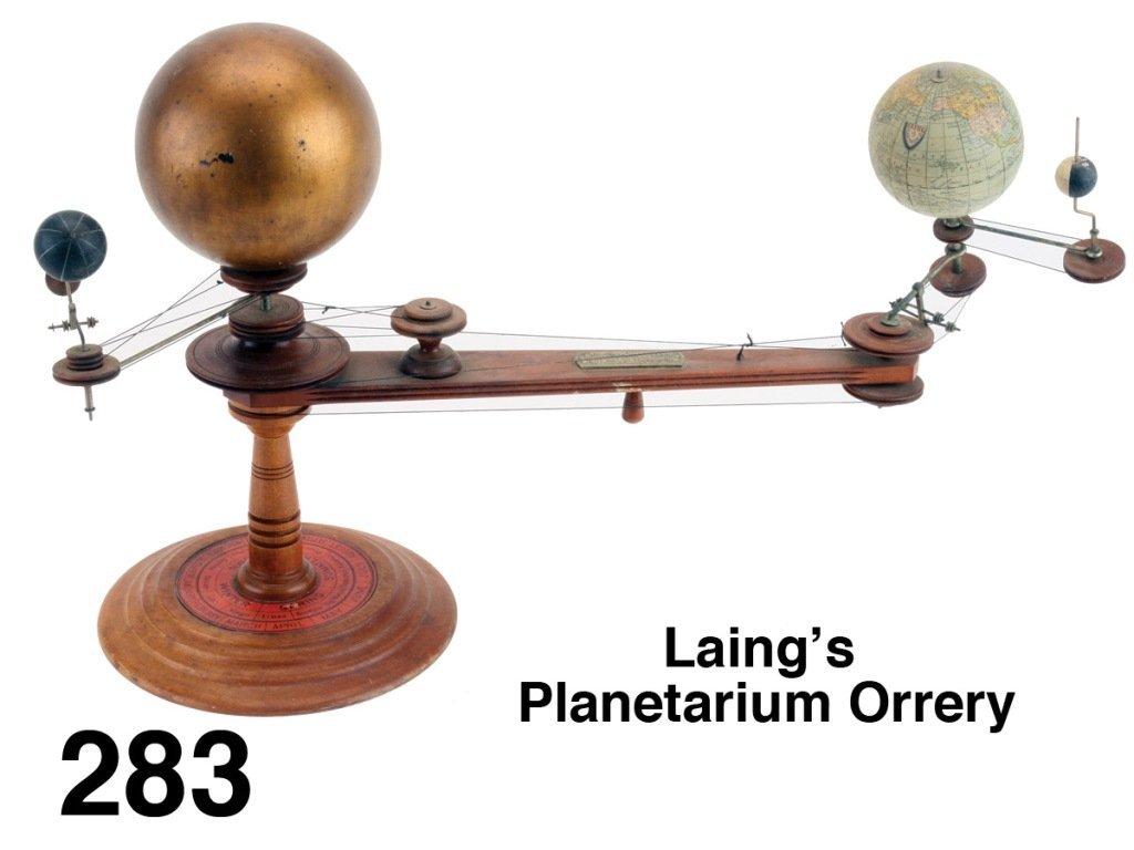 Laing's Planetarium Orrery