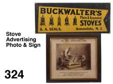 Stove Advertising Photo & Sign