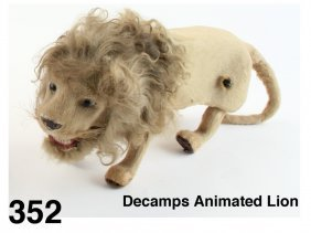 Decamps Animated Lion