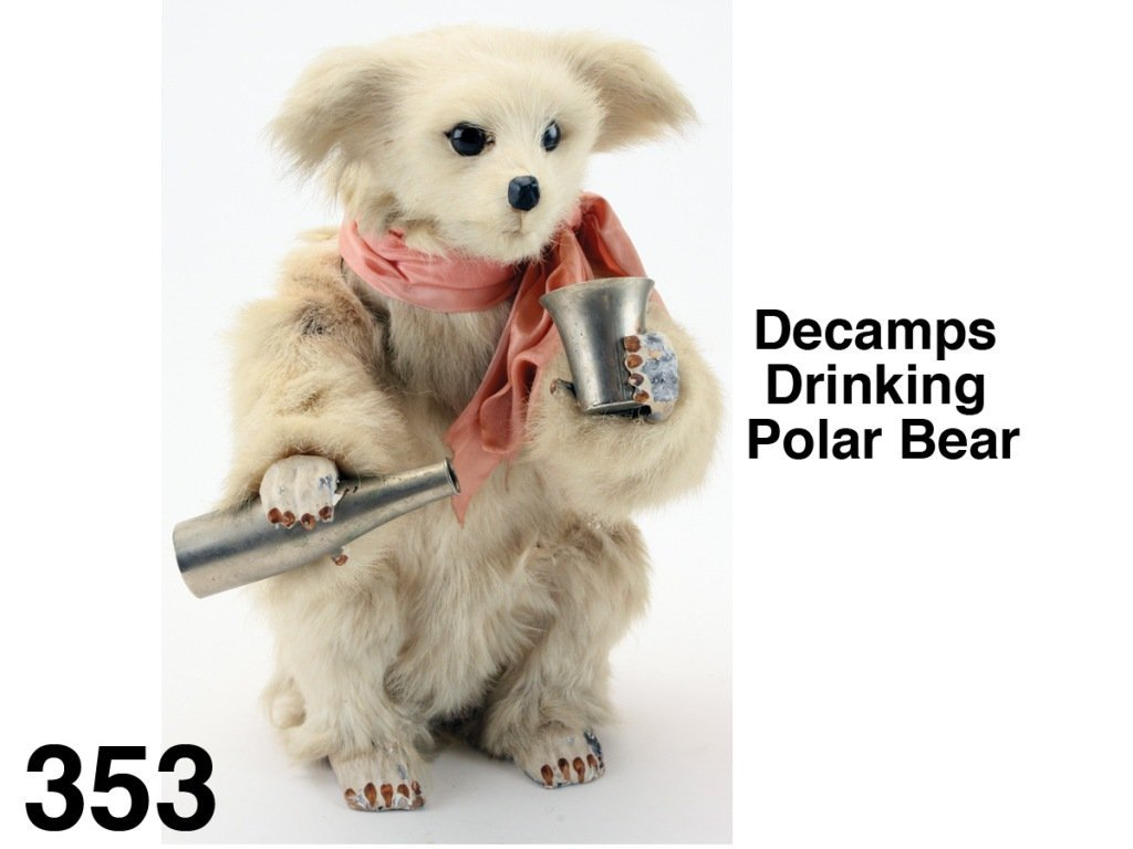 Decamps Drinking Polar Bear