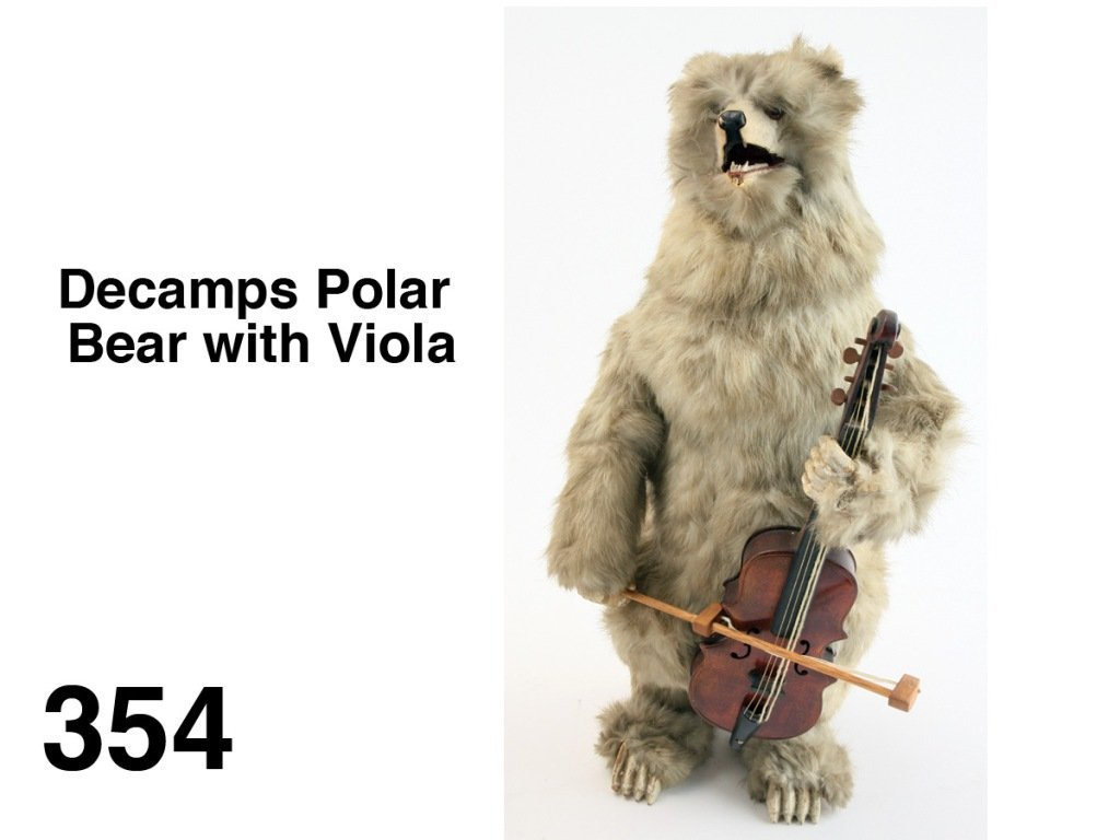 Decamps Polar Bear with Viola
