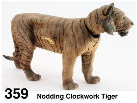 Nodding Clockwork Tiger