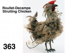 Roullet-Decamps Strutting Chicken