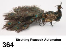 Strutting Peacock Automaton