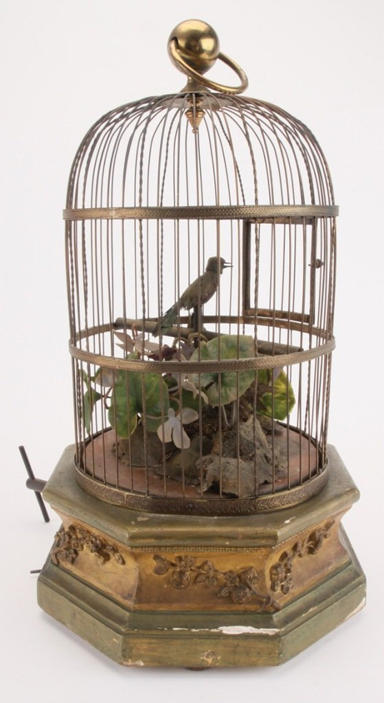Mechanical Bird in Cage - 2
