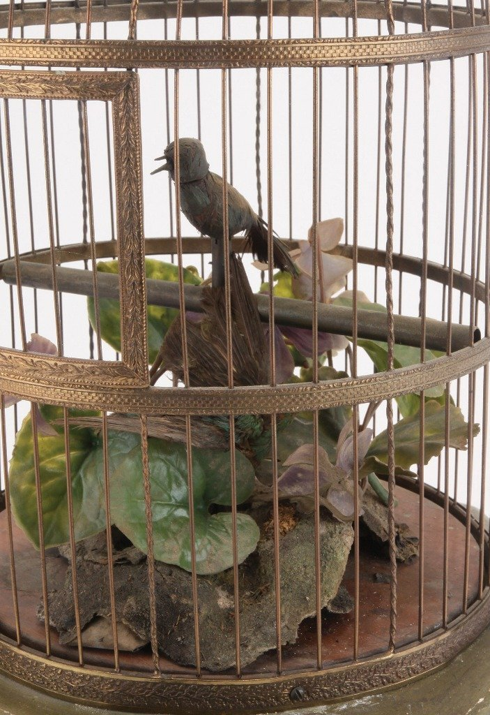 Mechanical Bird in Cage - 3