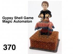 Gypsy Shell Game Magic Automaton