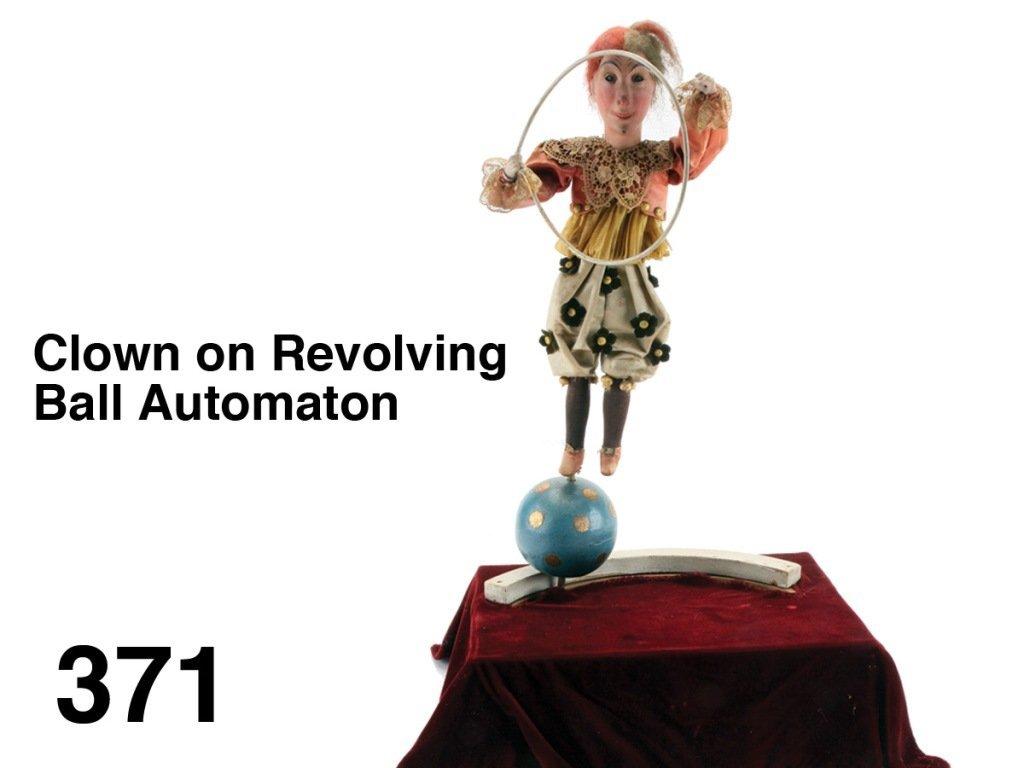 Clown on Revolving Ball Automaton