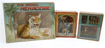 Nister Menagerie PopUp Book  Two Zoo Theme Paper