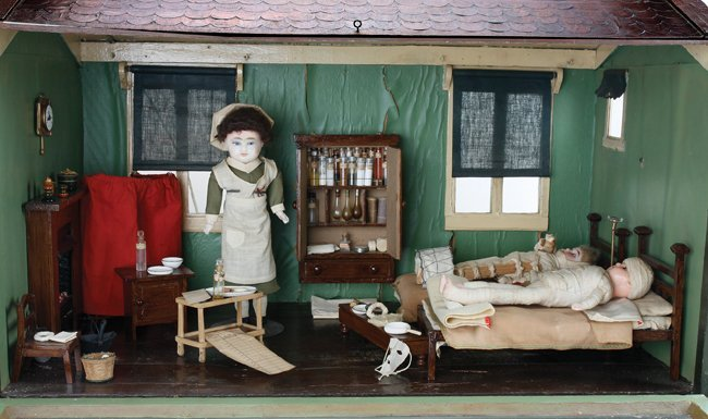 A Model Cottage Doll Hospital