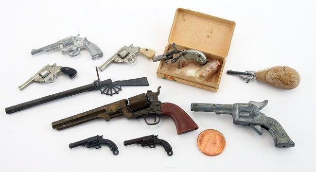Miniature Pistols, Revolvers & Such