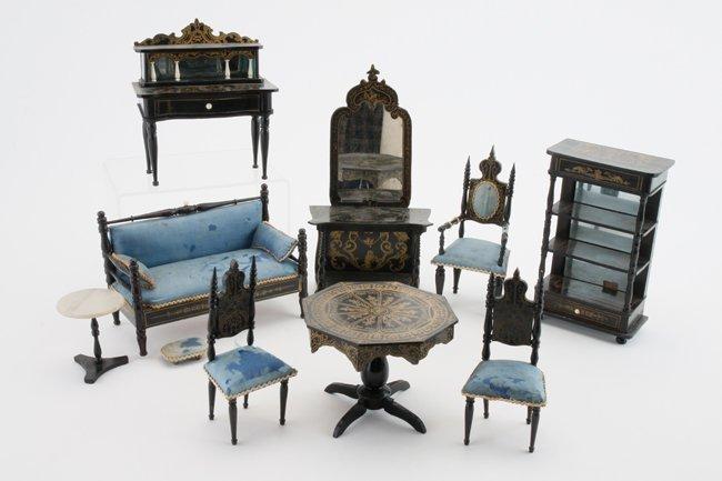 Victorian Gothic Parlor Suite