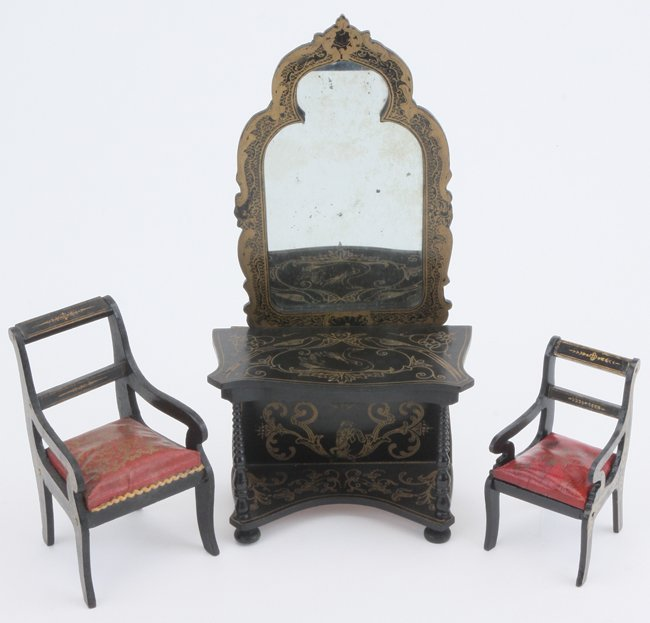 Waltershausen Hall Mirror & Chairs