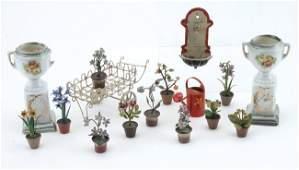 Vienna Bronze Flowers & Garden Grouping