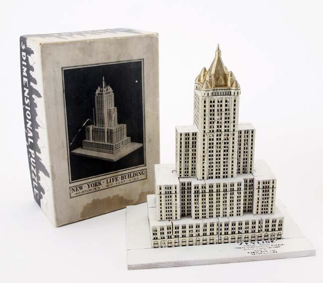 Skyline New York Life 3D Puzzle