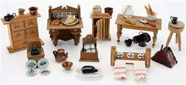 Dolls House Kitchen Furnishings
